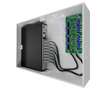 rack organizador cftv mini orion onix security