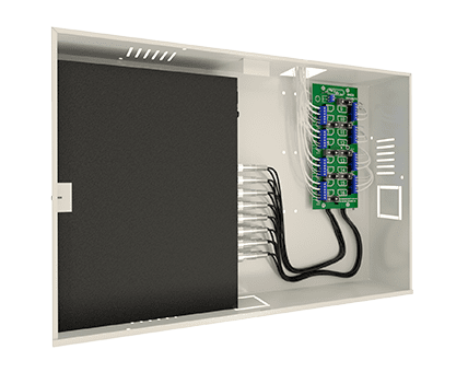 rack organizador cftv mini orion onix security lado